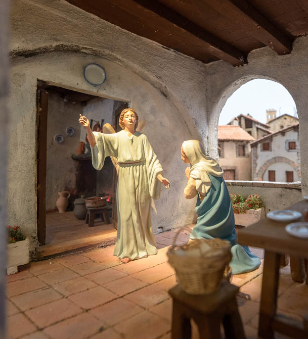 Aparición del Ángel Gabriel a la Virgen María