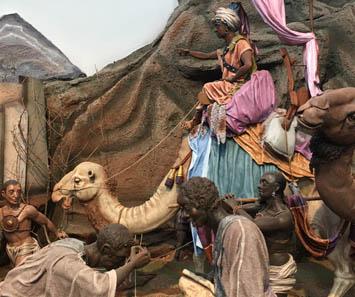 Rey Baltasar en camello