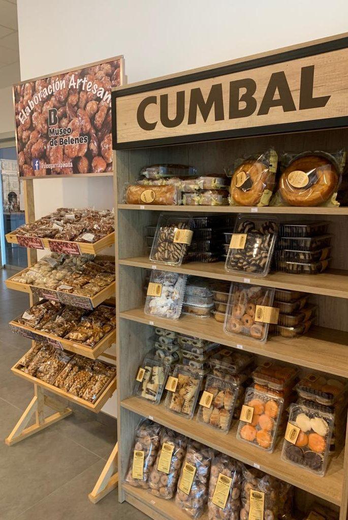 dulces tienda Museo Arte Belenista Mollina