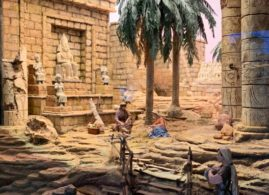 belén novedad temporada 2019:2020 Huida Egipto Museo Arte Belenista Mollina
