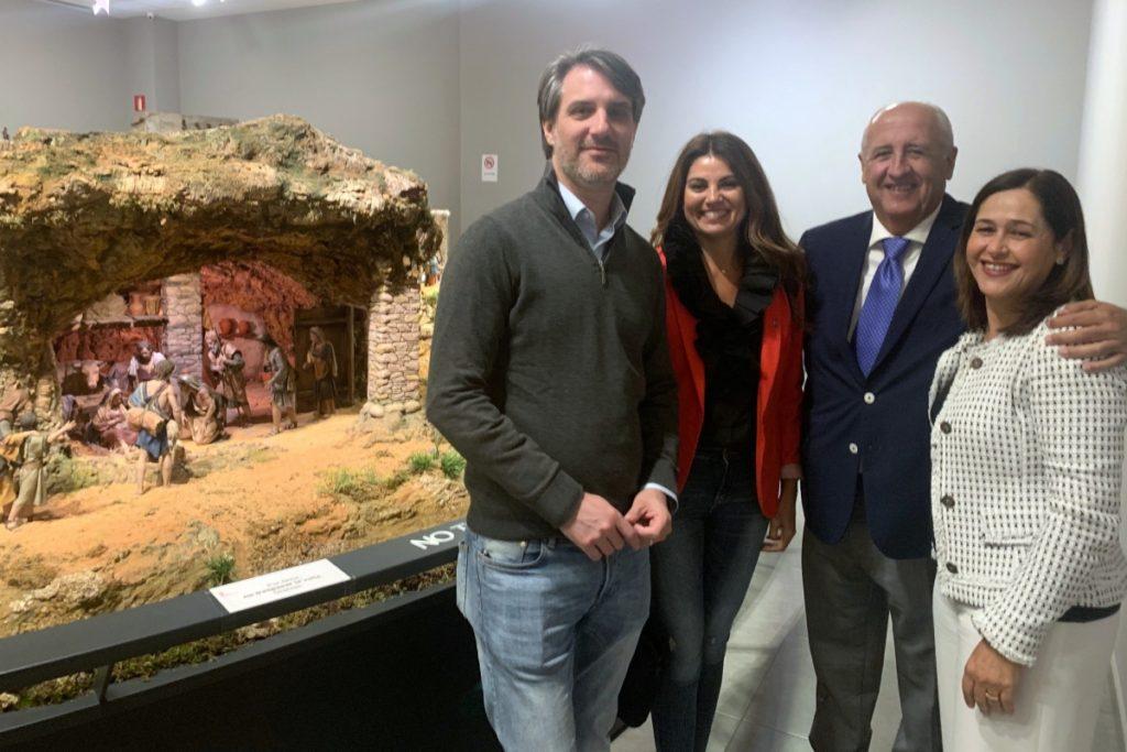 Eugenio Sevillano, Nuria Rodríguez, Antonio Díaz y Ana Caballero