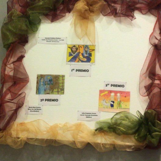 Ganadores concurso felicitaciones Navidad Museo Arte Belenista Mollina