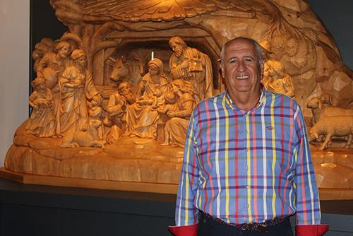 Antonio Díaz belén madera Museo Arte Belenista Mollina