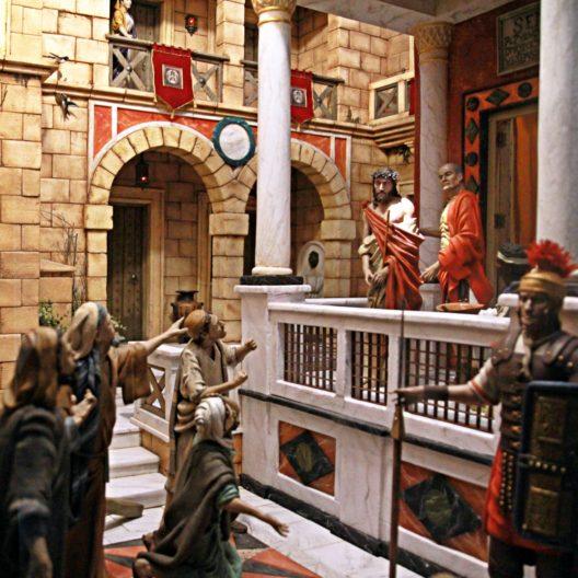 Juicio Jesús Pilato Escena Pasión