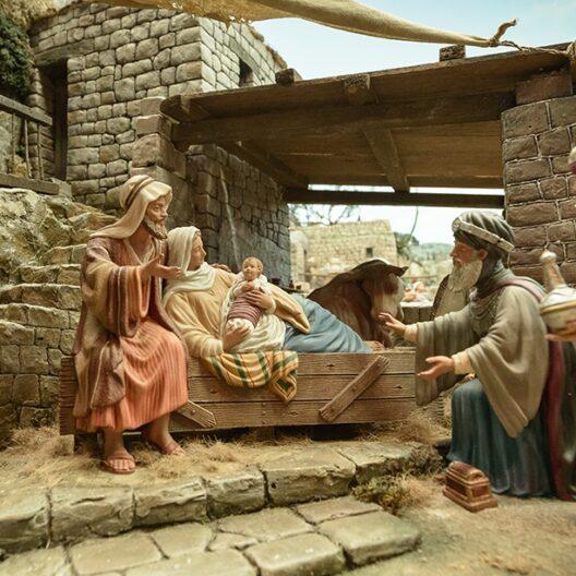 Belén Sagrada Familia y Reyes Magos